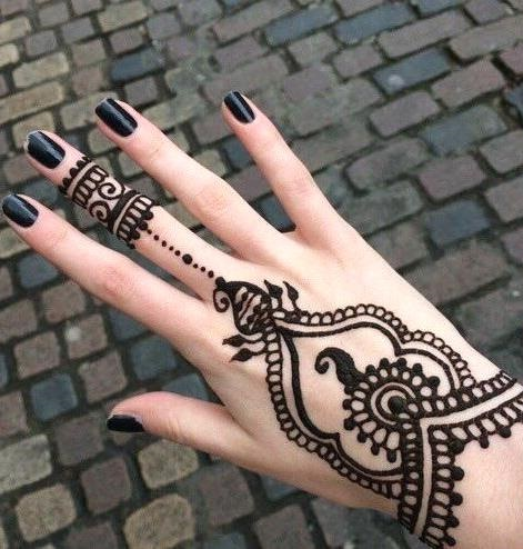 henna designs simple